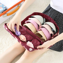 New Arrival Waterproof Travel Storage Bag Thickened Underwear Wash Bra Sorting Kit Organizer Makeup Bags Cosmetic Bag In Bag(China (Mainland))