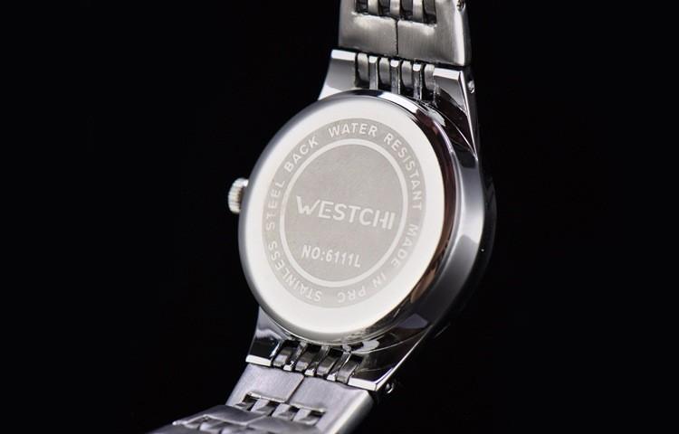 2016 новый дизайн WHESTCHI часы женщины фирменное наименование новый роскошные часы diamond dial stainlee стали бизнес кварцевые наручные часы