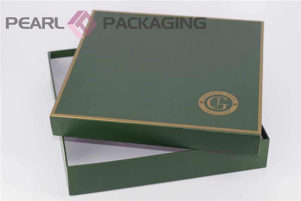 Luxury Scarf Box, Silk Scarf Cashmere Scarf Brand Packaging Box, Base and Lid Cardboard Square Box 500pcs/lot(China (Mainland))