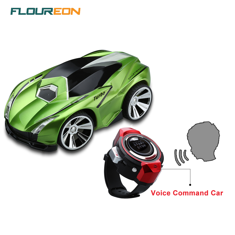 Floureon R101 Smart Watch Full Funtion Voice Command rc car Yellow Red Green best remote control toys(China (Mainland))