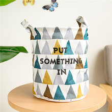 storage baskets folding laundry basket yellow arrow couple linen washing clothes barrel bags with handles kids
