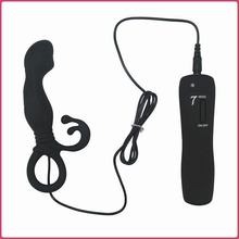 Buy 7 Function Silicone Anal Butt Plug Vibrator Waterproof Vibrating Prostate Probe Anal sex prodcut prostate massage anal toys for $10.99 in AliExpress store
