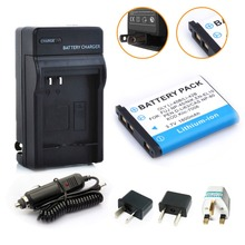 1Pcs LI-42B Li-40B Camera Battery + Charger + Plug for OLYMPUS U700 U710 FE230 FE340 FE290 FE360 U1040 X915 VR320 VR330 FE5000