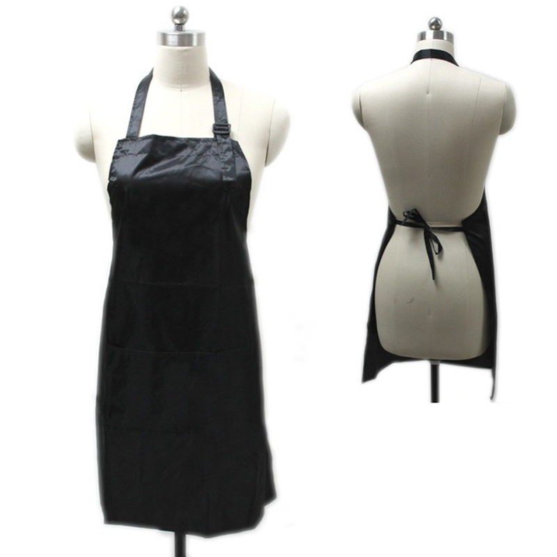 New Professional Waterproof Treatment Apron Hair Cutting Bib Barber Home Styling Salon Hairdresser Waist Cloth(China (Mainland))