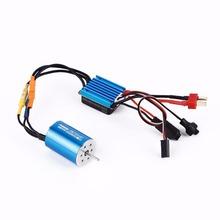Buy 2435 4800KV 4P Sensorless Brushless Motor+25A Brushless ESC 1/16 RC Car for $22.65 in AliExpress store