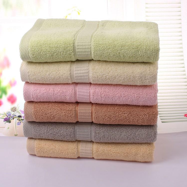 ๏50*100cm 2pcs Grey Large ② Cotton Cotton Terry Hand