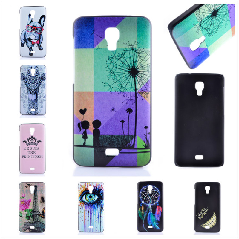 Luxury Cartoon Painted Cell Phone Case Cover Wiko Bloom 3D Plastic Hard Back Explay Vega Original  -  Only-1 store