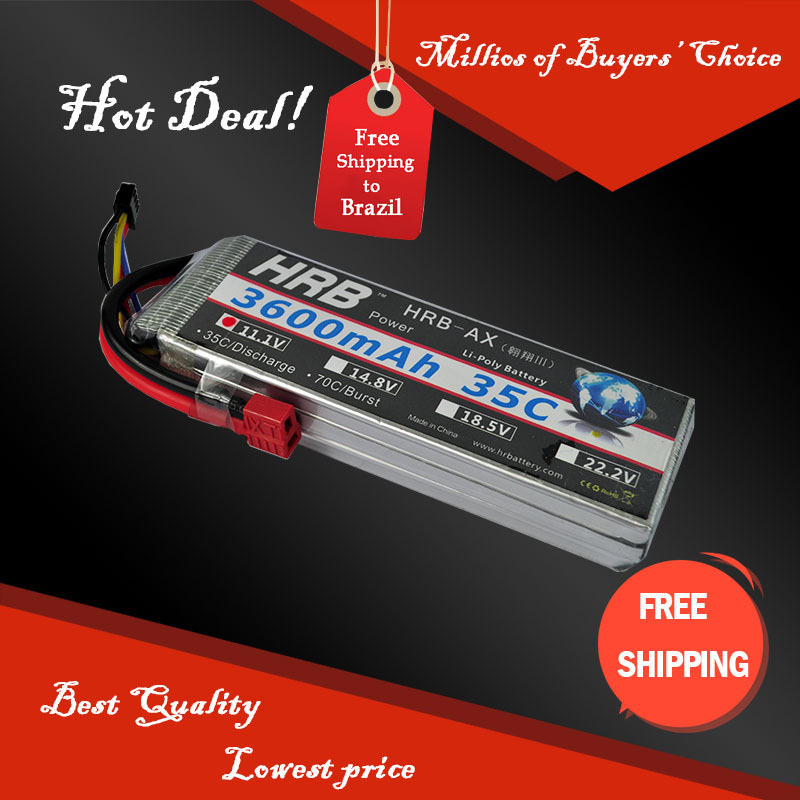 11.1V 3600mAh 35C Max 55C 3S RC LiPo Li-Poly Battery For Helicopter Model Free Shipping<br><br>Aliexpress