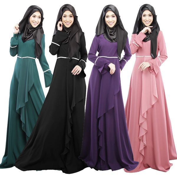 2016 New Muslim <font><b>Abaya</b></font> Plus Size Maxi Dress Muslim <font><b>Abaya</b></font> Jilbab Islamic Clothing for Women Islamic Women Dubai <font><b>Abaya</b></font> WL3079
