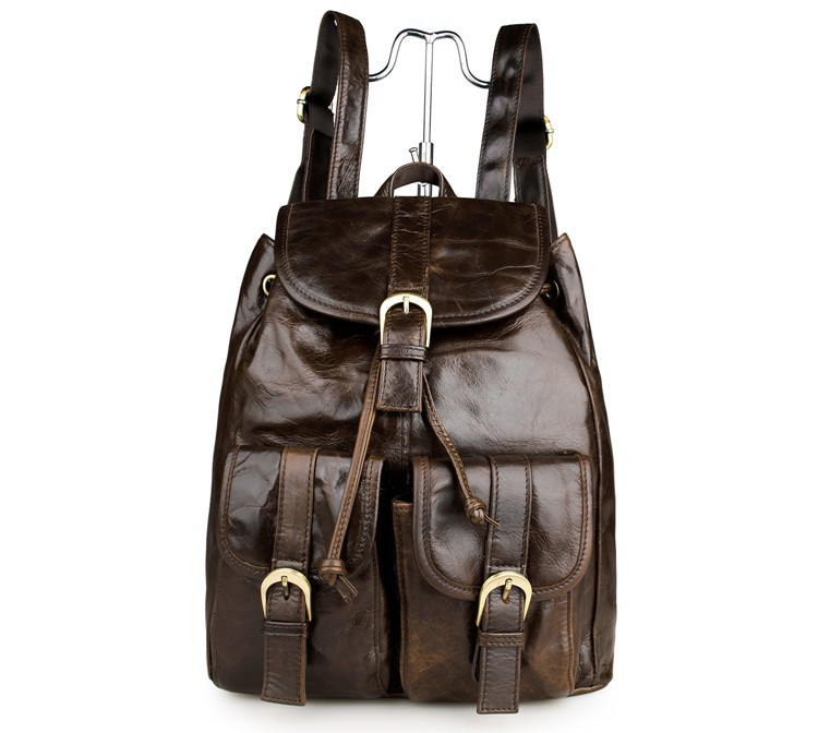 Low Price JMD High Quality Durable Genuine Leather Backpacks Preppy Style School Bags For Girls 10Pcs