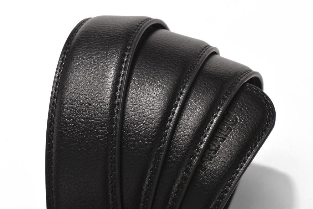 HTB1d7TqQFXXXXbxXVXXq6xXFXXXr - 2017 men's fashion100% Genuine Leather belts for men High quality metal automatic buckle Strap male Jeans cowboy free shipping