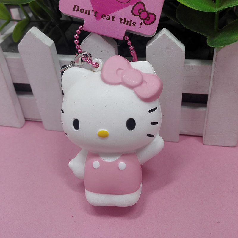 original package rare hello kitty doll squishy pink cell phohe Strap Charm s hotsales - kuwaii store