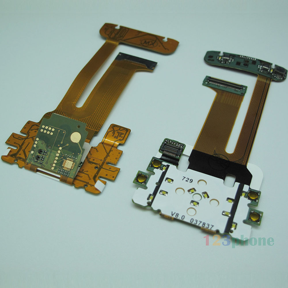 BRAND NEW KEYPAD W/O CAMERA MEMBRANE FLEX RIBBON CABLE FOR NOKIA N81 #F04(China (Mainland))