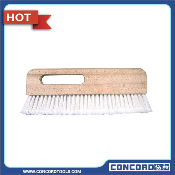 "Free shipping 12"" wallpaper brush beech wood handle white color PP hair(China (Mainland))"
