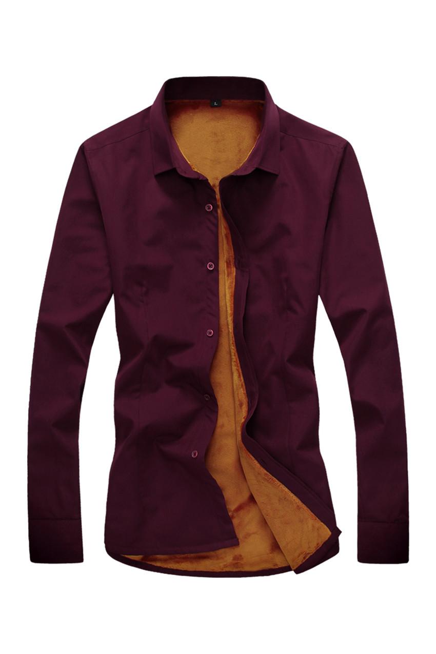 2015 new arrival men shirt plus thick velvet long sleeve for Thick long sleeve shirts