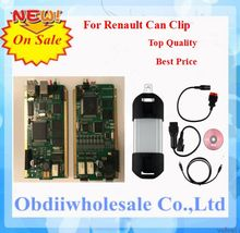 2016 Newest Version for Renault Can Clip V160 With Cypress Chip AN2136SC Chip On Promotion for Renault Can Clip v160 In Stock(China (Mainland))