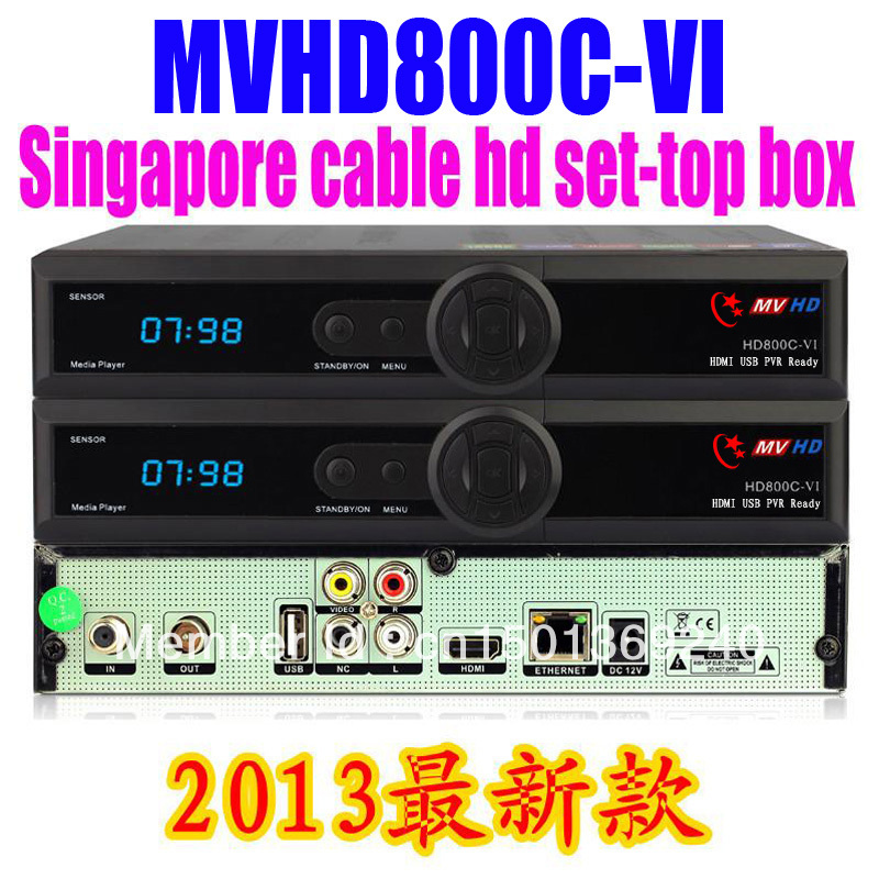 MVHDHD800C for Singapore FYHD800C VI Singapore cable digital set-top box Starhub TNHD888 support youtube support sharing()