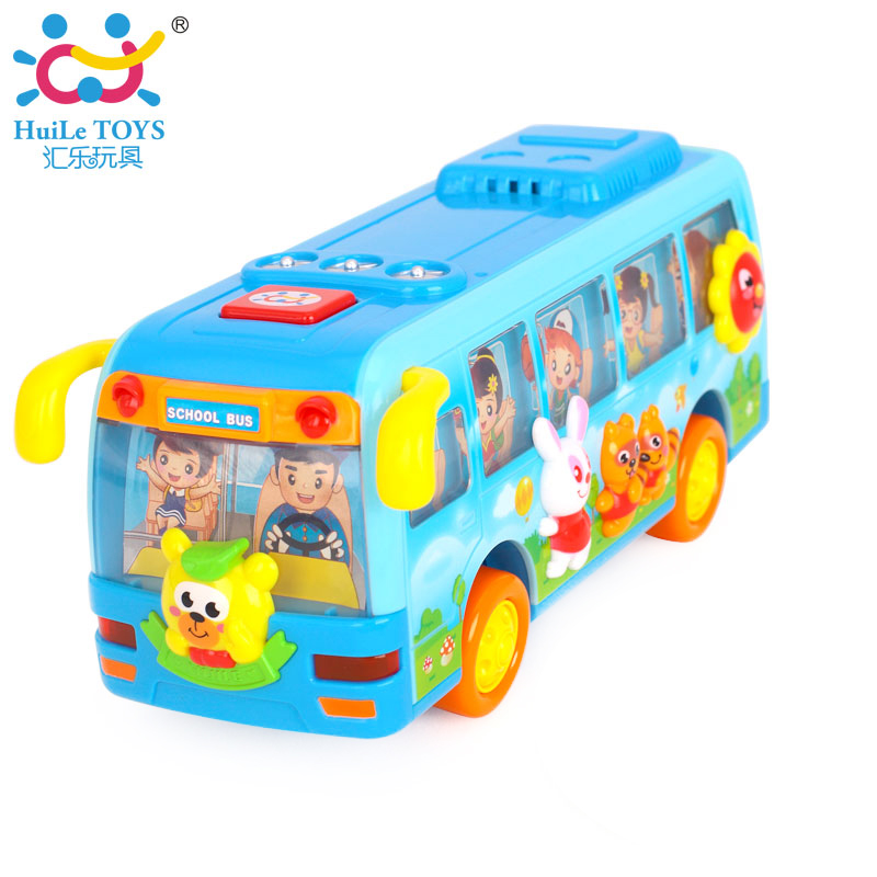2016 New Baby Toys Baby Early Learning & Educational Electric Car Toy Driving Bus Go School Bus Music Toys For Kids Boys Gifts(China (Mainland))
