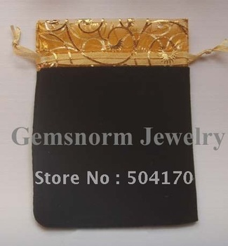 Promotion! High Quality 10*12cm Jewelry Pouches,Black Gift Bags Sweet Bags 500pcs/lot Wholesale Price Free Shipping JA-008