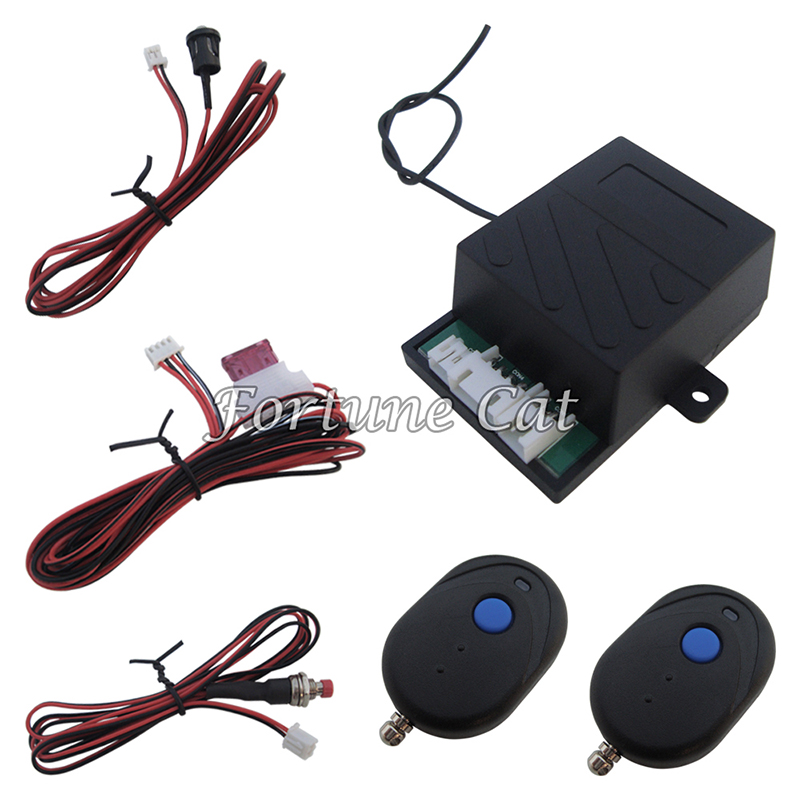 Stock In USA! Universal Car Engine Immobilizer RFID Hidden Lock Alarm System For All DC 12V Cars And Motorbikes(China (Mainland))