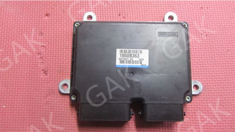 Mitsubishi Engine ECU Engine Control Computer 1860B363/ E6T78377(China (Mainland))