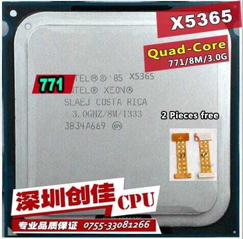 Original For Intel Xeon X5365 CPU processor /3.0GHz /LGA771/8MB L2 Cache/Quad Core/ server CPU Free Shipping scrattered pieces(China (Mainland))