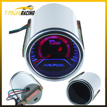 "free shipping!! Air fuel Gauge Car meter 2""/ 52mm Smoke Air Fuel Ratio Gauge,Super Bright Led lighting/car gauge/tachometer(China (Mainland))"