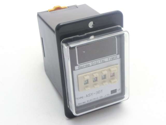 ASY-3D AC 220V0.01S-9990H Digital Timer Programmable Time Relay With Socket Base<br><br>Aliexpress