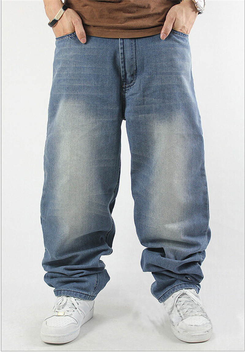Baggy bootcut jeans