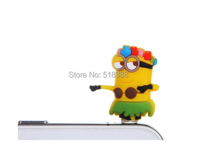 New come Anti Dust Plug Cartoon Phone Accessories Antidust Plug for Mobile Phones Dustproof Plug for Earphone