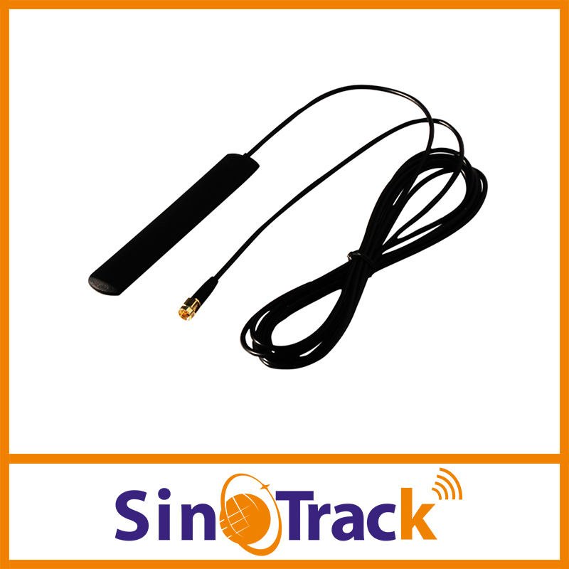 GSM Antenna SMA male connector RG174 3m Cable for gps tracker TK103, TK106, VT300, VT310(Hong Kong)
