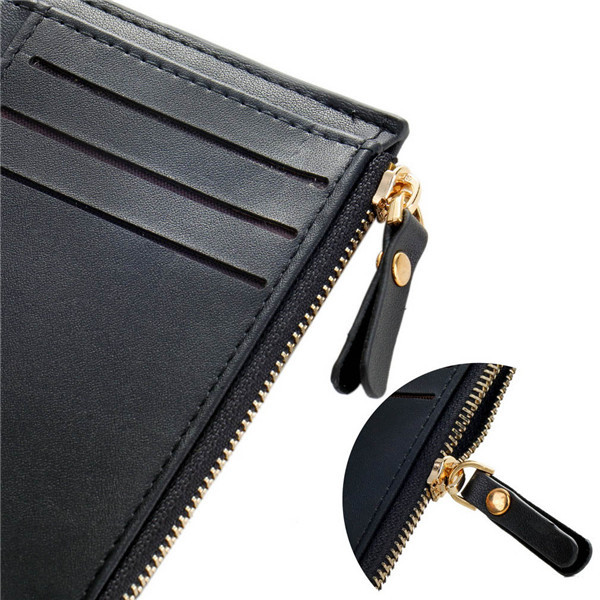 1x with Coin Bag zipper new 2015 men wallets famous brand mens wallet male money purses