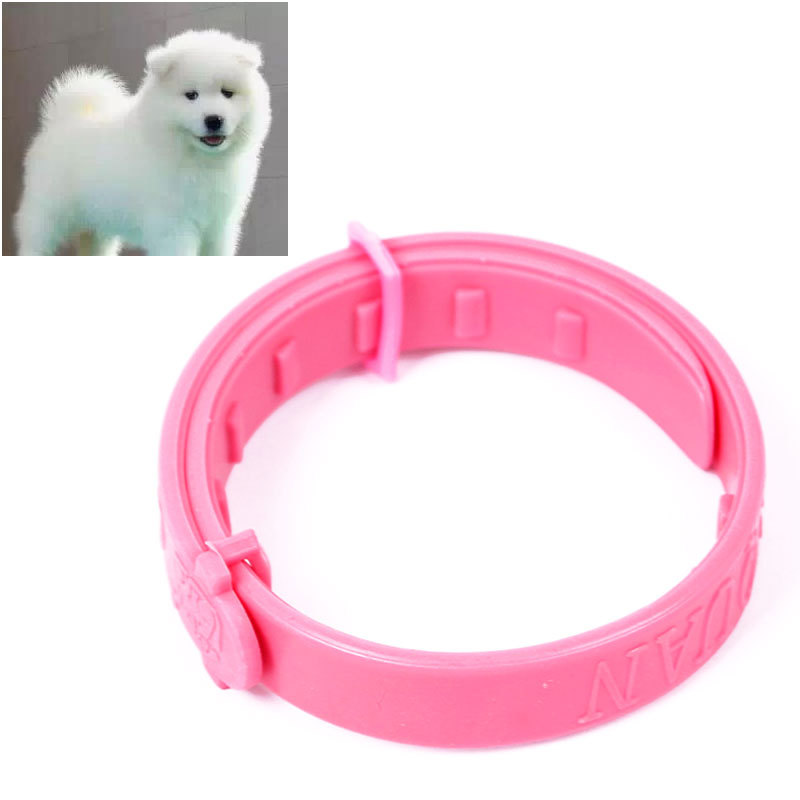New Adjustable Pet Collar Cat Protection Neck Ring Flea Tick Mite Louse Remedy#55562(China (Mainland))