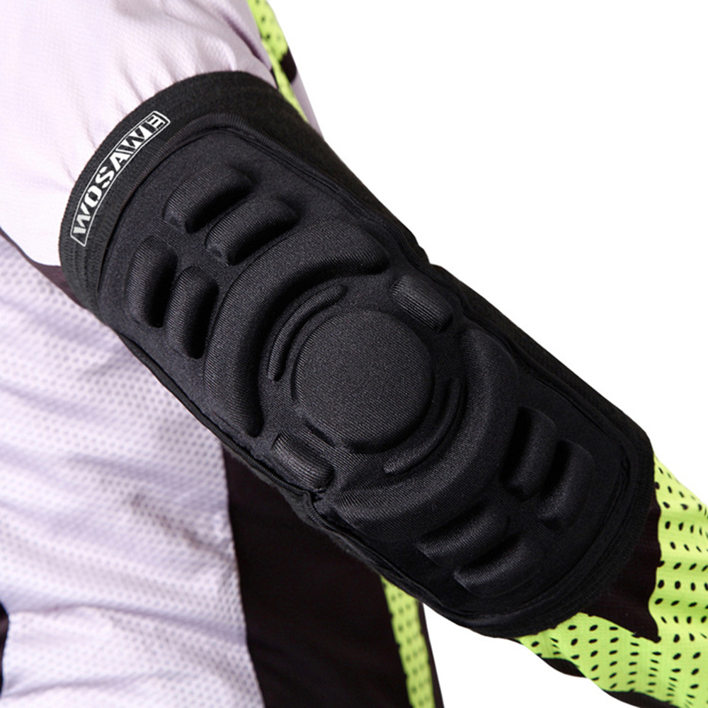 WOSAWE Brand Basketball Elbow Pads Breathable Football Snowboarding Skating Cycling Sports Arm Sleeve Elbowpad Protector(China (Mainland))