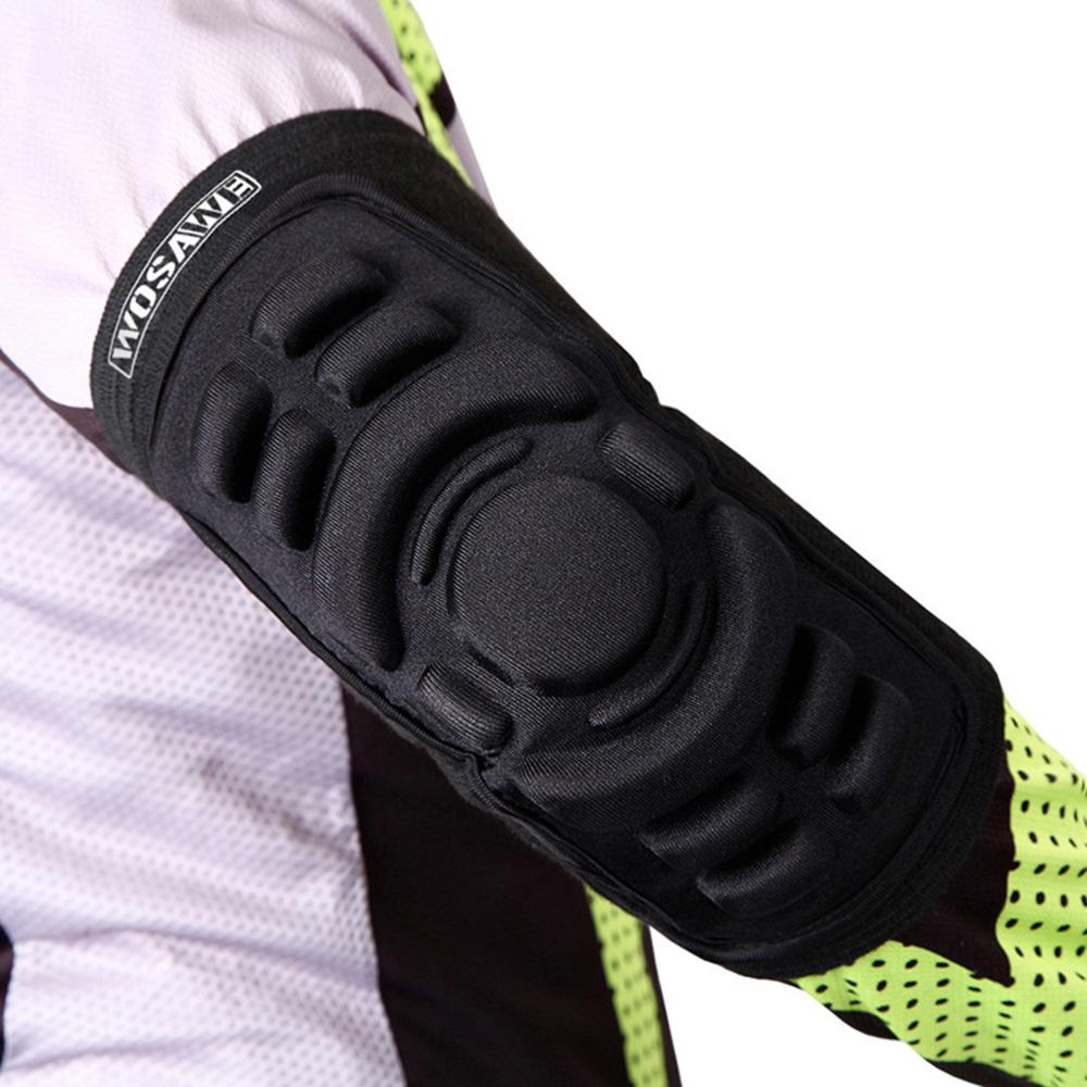 WOSAWE Brand Basketball Elbow Pads Breathable Football Snowboarding Skating Cycling Sports Arm Sleeve Elbowpad Protector(China (Mainland))