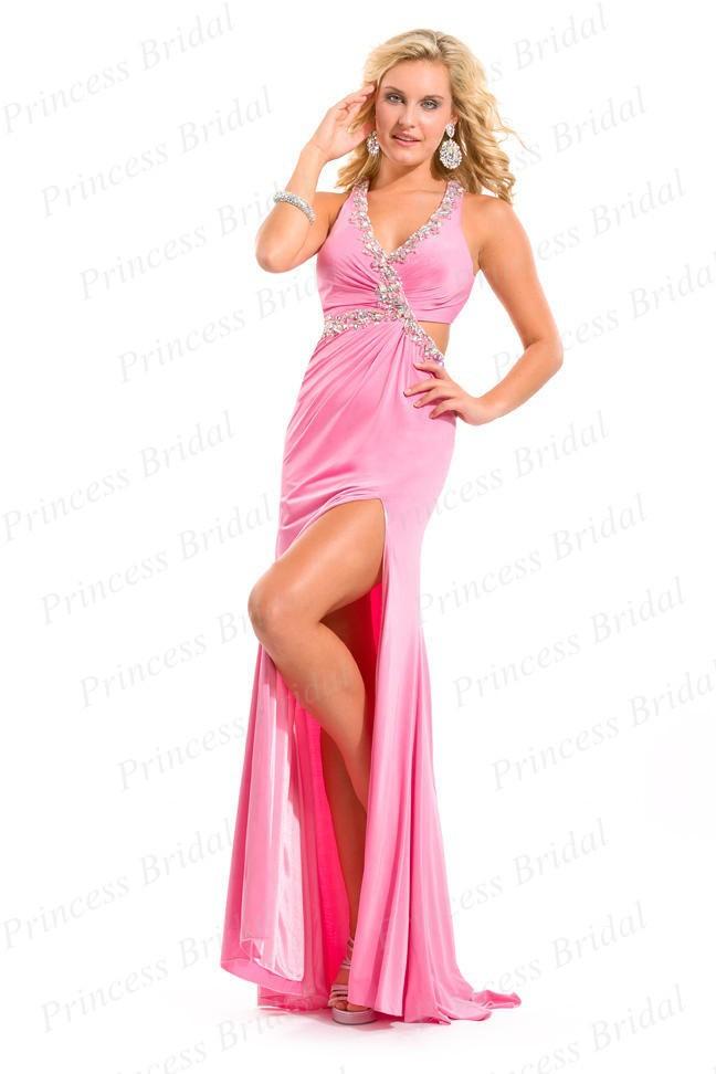 Low Cut Back Prom Dresses - Plus Size Tops