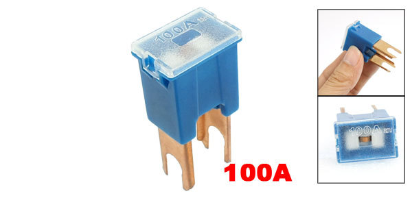 100A 100 Amp Blue PAL Pacific Type Male Slow Blow Fuse for Car Auto<br><br>Aliexpress