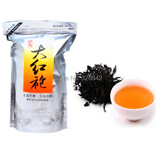 250g da hong pao tea Big Red Robe Oolong tea wu long wulong wu long weight