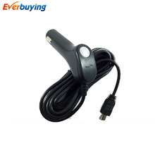 Auto Universal Car Charger For DVR GPS navigation iPad mobile iPhone mini USB 5V 1A