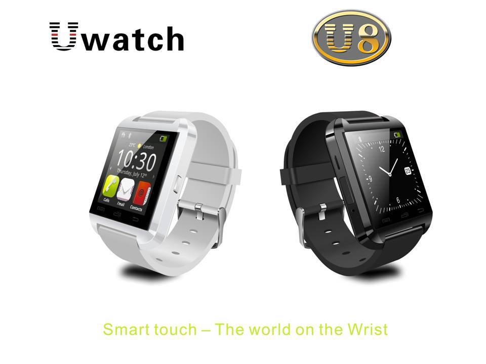 Smart Watch WristWatch U8 U Samsung S4/Note 2/Note 3 HTC LG Huawei Xiaomi Android Phone Smartphones 2015 Hot