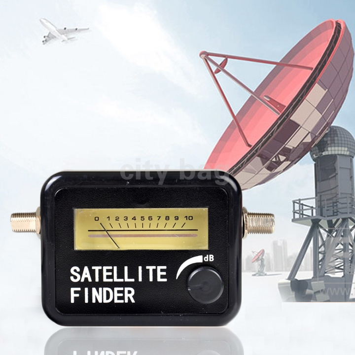 Original Sather Pocket Digital Satellite Finder Meter HD Signal Sat SAT DISH New - city bag store