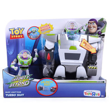Anime Cartoon Toy Story 3 Buzz Lightyear Turbo Suit PVC Action Figures Collectible Toys Free Shipping DSFG182