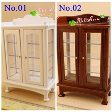 1:12 Dollhouse Miniatures Living Room Furniture China Cabinet Hobbies Toys Furniture/Doll house Accessory(China (Mainland))