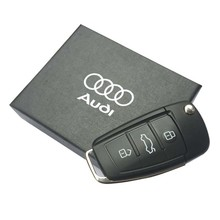 Audi car key USB flash drive, 8G.16G.32G.64G pen drive, USB creative gifts, exquisite memory stick, free shipping USB 2.0(China (Mainland))