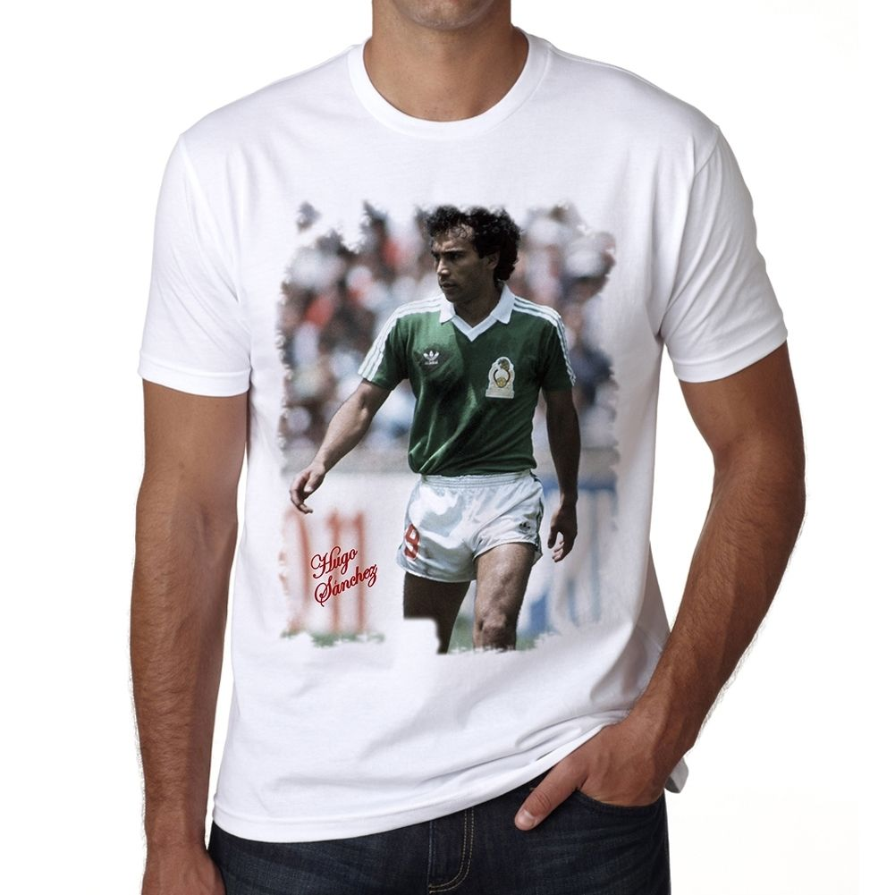 Hugo Sanchez Men's T-shirt(China (Mainland))