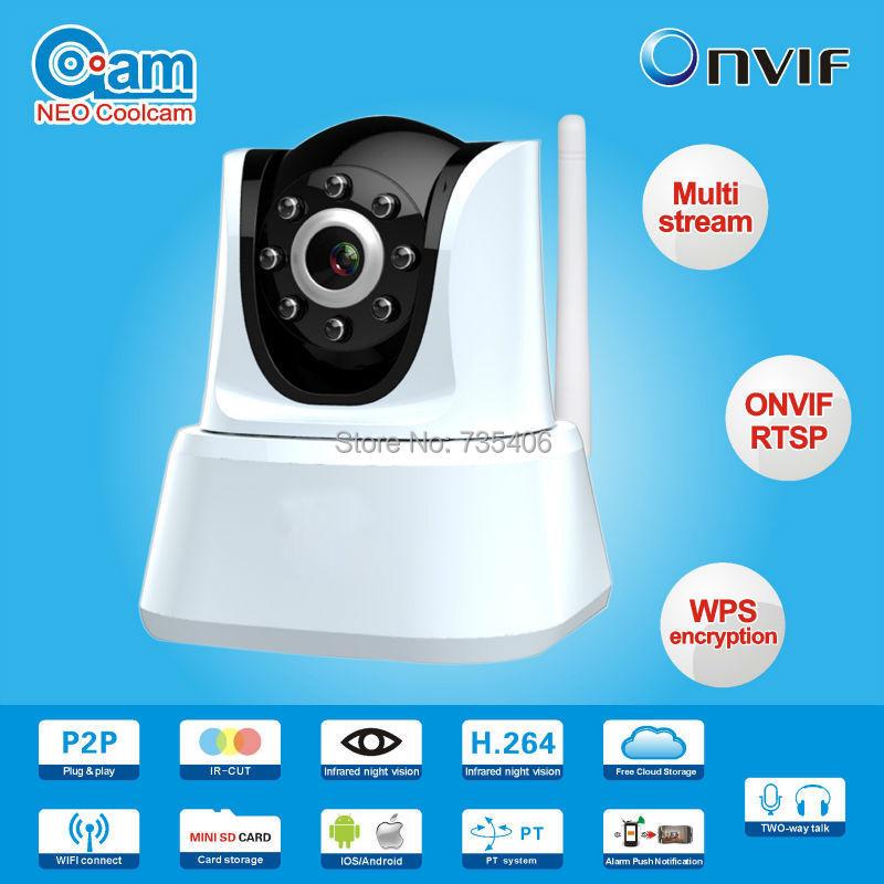NIP-21L2J Two Way Audio1.0 Megapixel H.264 Wireless indoor IP Camera HD P2P IP Camera<br><br>Aliexpress