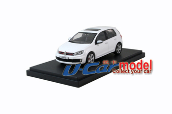 1pcs/lot 1:43 CHina Faw Volkswagen Golf 6 GTI  2010 die-cast car model  White