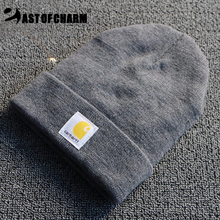 So Cool!! Winter Hat For Woman Hat Man Cap Knitted Beanies Warm Hat Stylish Solid Color Skullies Beanies Bonnet gorros toucas(China (Mainland))