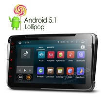 """XTRONS 8""""Android 5.1Quad Core touch Screen 1080P Video Car DVD Player Navigator Screen Mirroring OBD2 for Volkswagen/Seat/Skoda(China (Mainland))"""