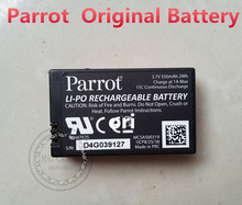 Parrot Battery 3.7v 550mAHLi-Po Battery For Parrot MiniDrones Jumping sumo battery / rolling spider battery Free Shipping